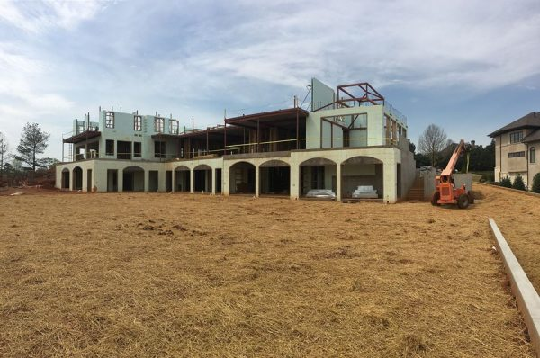 new construction geothermal system atlanta sugarloaf countryclub
