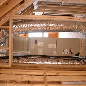 conventional heat pump handler