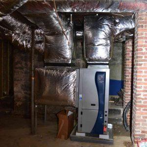 geothermal installation waterfurnace