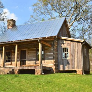 kingston ga small geothermal cabin