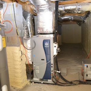 Macon home with mechanical room geothermal