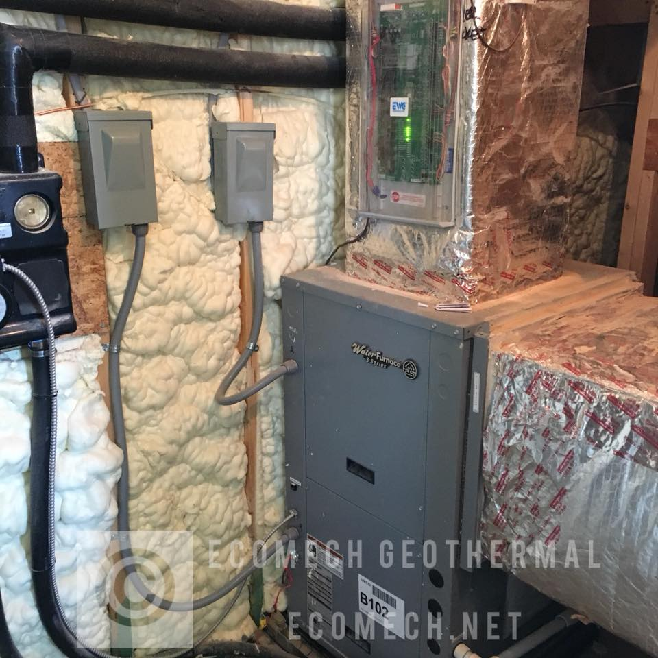 Water Furnace Wiring Trusted Diagrams Diagram Ecomech Geothermal Waterfurnace 3series Air Conditioning Fuel Oil Pinewood Forrest